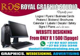 Web designing from only R850 five pages