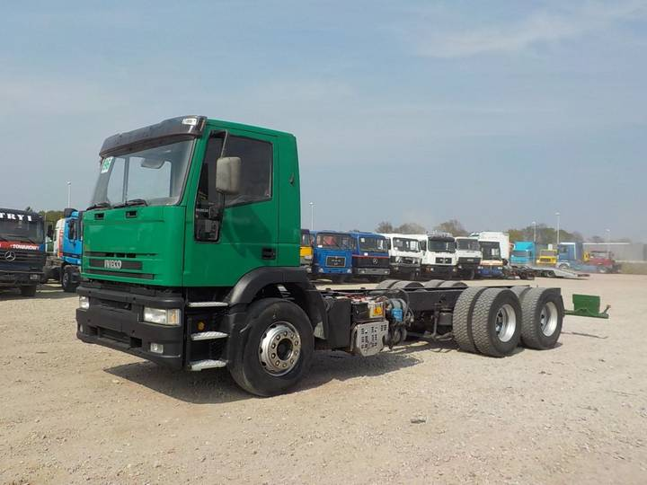 Iveco Eurotrakker 260 E 38 (PERFECT / 6X4 / 10 TIRES) - 1995
