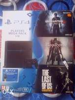 Playstation 4 New Slim 1TB with 3 games included