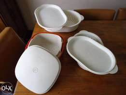 Tupperware steamers