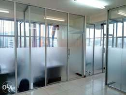 Executive Closed and Partitioned Office