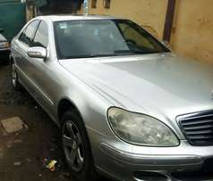 Super neat first Body Mercedes Benz S500 at give away price