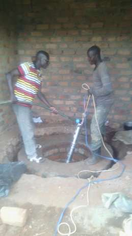 We dig wells and install pumps Mukono - image 1