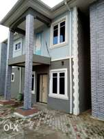 Tastefully finished 4br duplex with 1Room BQ for sale at NEW OKO-OBA.