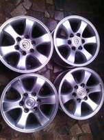 17 inch rims for Toyota bakkie on special for sale