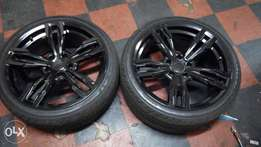 19 inch mags n tyre