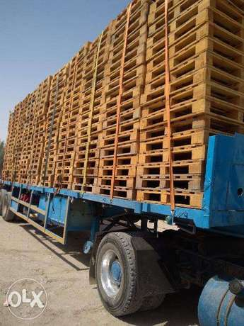 Used wooden pallets available عين خالد -  1