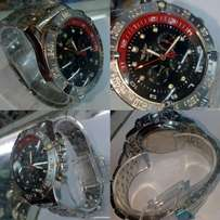 Breitling silver dials functional