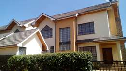 An amazing double storey town house on Kiambu Road