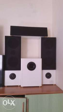 2.1 Speakers + Active Subwoofer صوتيات