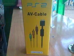 ps2 audio and video cable