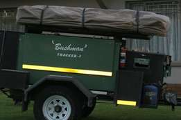Off road trailer 'bushmans'