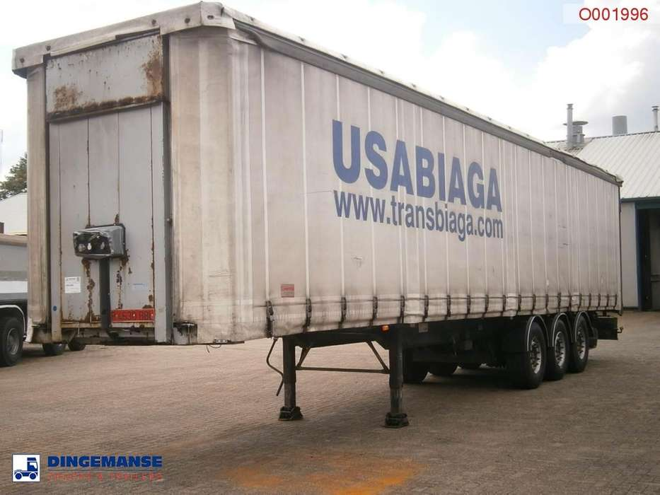 Samro Curtain box trailer 88.5 m3 / 36500 kg - 2003