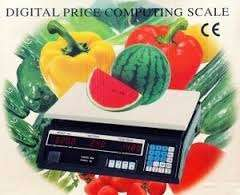 Digital price computer scale/weighing machine
