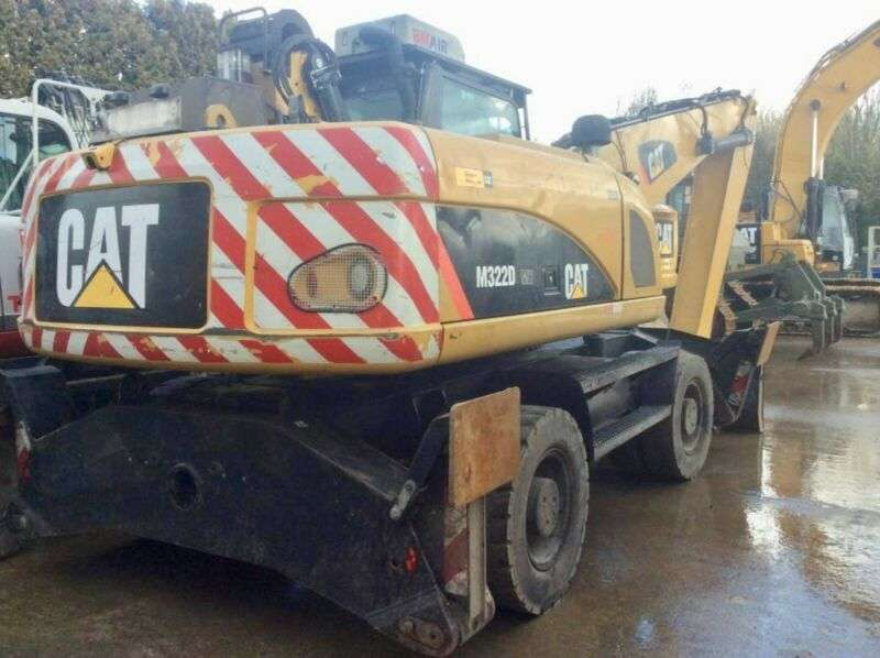 Caterpillar M322d Mh **bj2013 *10900h** - 2013
