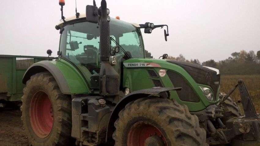Fendt 716       fnd tractor - 2015 - image 2