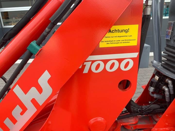 Fuchs F 1000 Mini shovel - 2018 - image 3