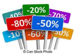 Vouchers avaliable for discounted prices on purchases at retail stores