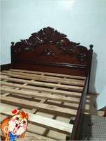 A high quality bed.