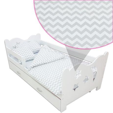 Pościel Dla Dziecka Zestaw 7 Element Na łóżko 160x80 Szara