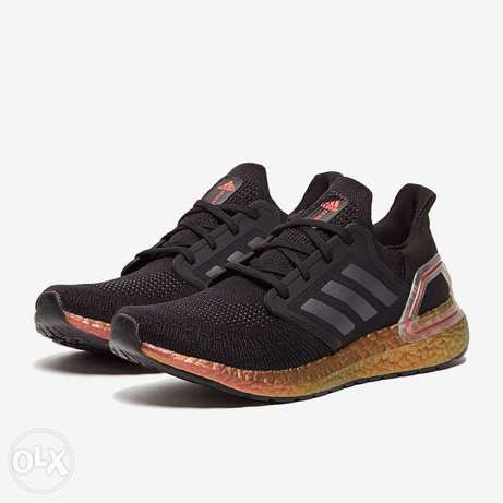 New unused adidas ultra boost pink and grey