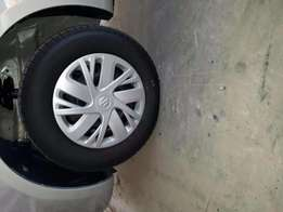 Goodyear Tyres, Rims and Suziki Wheel Caps - For Sale