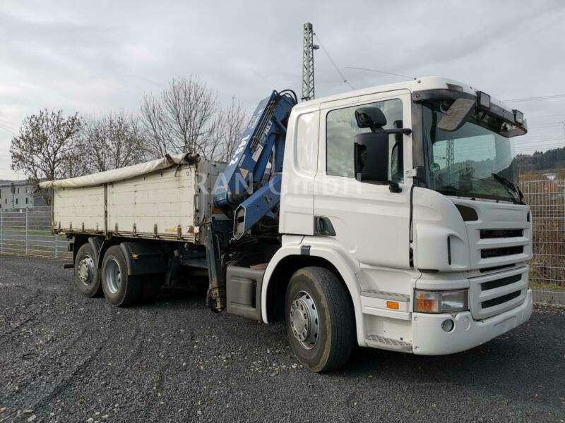 Scania Atlas Kran 145.2 - 2006
