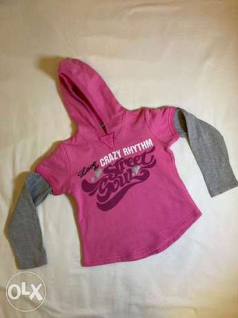 Benetton hoodie for girls age 7 small