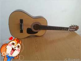 Acoustic wooden guitar to sell