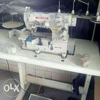 Tapping embroidery double sewing machine complete set