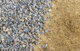 Free building sand and stone