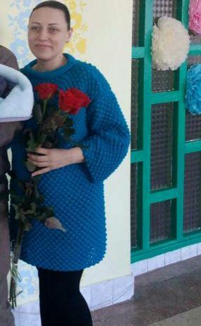 архив вязаный свитер туника можно для беременных 399 грн