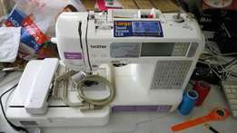 Brother SE 400 Embroidery machine for sale, 4.000.000/- negotiable