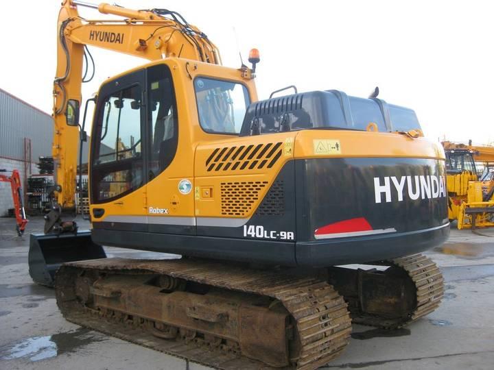 Hyundai Robex 140 LC-9A - 2016