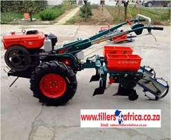 Two wheel walk behind tractors and tillers