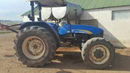 New Holand 4x4 Tractor
