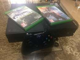 BRAND NEW Xbox- One with 2 games
