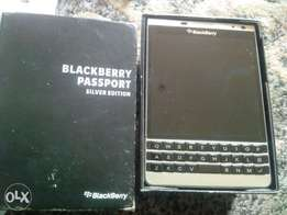 Very clean Blackberry Passport 2 (silver edition) for sale
