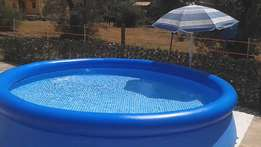 Brand New Inflatable Swimming Pool 366cm x 76cm ( Deliver country Wide