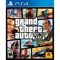 GTA 5 in Box with Map for PS4
