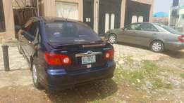 Very neat Toyota Corolla S for sale