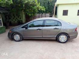 Honda civic 2008 gray v4