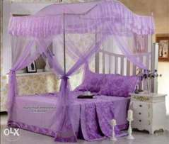 Classy and curved mosquito net