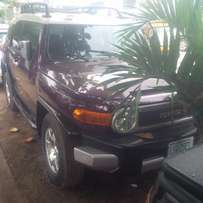 Nigerian Used Toyota FJ Cruiser, 2008, Very OK