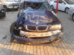 BMW E46 Facelift stripping for parts