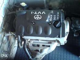 Toyota yaris 2nz and Corolla3zz and1zr motor From R8500each