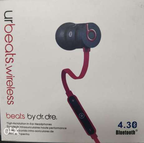 Urbeats wireless earphones with Solid metal housing original.
