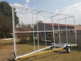 A Frame 6m x 3m advertising trailer R13500