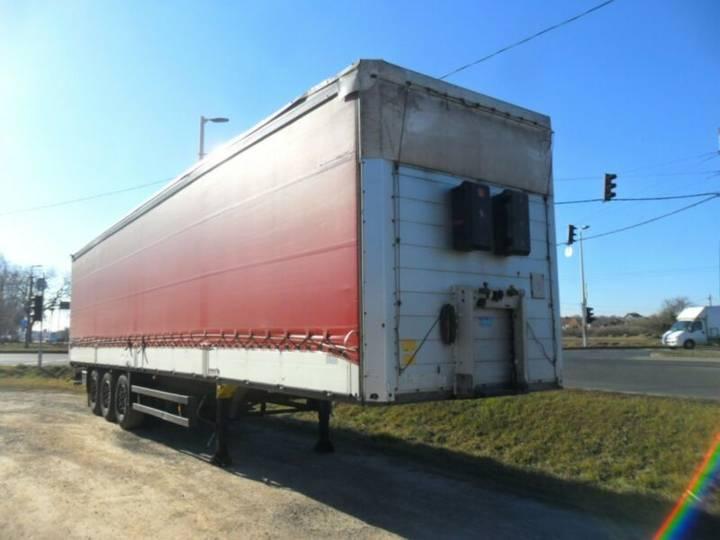 Schmitz Cargobull SCS 24/L / Bordwand / - 2011