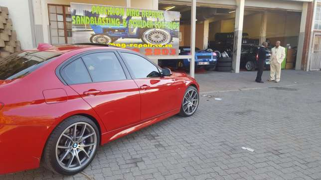 """19"""" BMW 6 Series rep Mags with Tyres Rustenburg - image 8"""